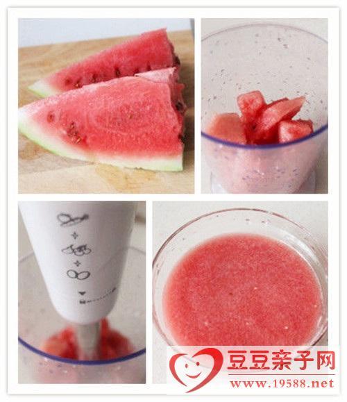 夏日水果冰饮:西瓜沙冰、芒果雪冰制作方法